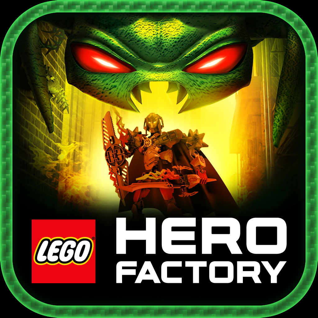 LEGO® Hero Factory Brain Attack by Amuzo Games Ltd icon